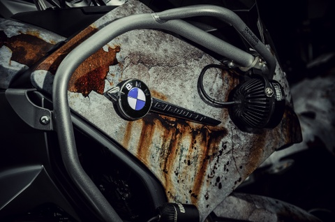 Sieu moto BMW RT1200R do kieu ri set boi tho Viet hinh anh 5