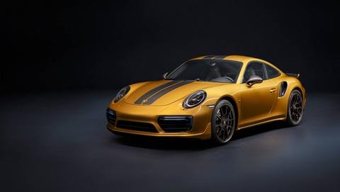 911 Turbo S Exclusive - sieu xe gioi han 500 chiec toan cau cua Porsche hinh anh