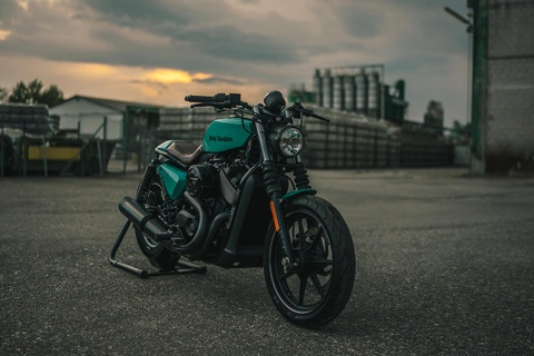 Moto gia re Harley Street 750 do doc dao voi chi phi thap hinh anh 2