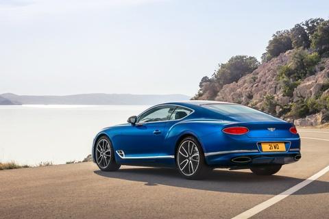 Xe sieu sang Bentley Continental GT 2018 ra mat hinh anh 5