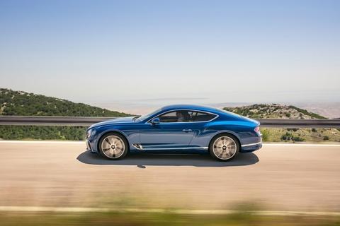 Xe sieu sang Bentley Continental GT 2018 ra mat hinh anh 6