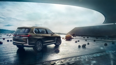Lo hinh anh X7 Concept - SUV lon nhat cua BMW hinh anh