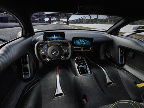 Mercedes AMG Project One: Sieu xe dung dong co F1 gia 2,7 trieu USD hinh anh 9