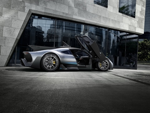 Mercedes AMG Project One: Sieu xe dung dong co F1 gia 2,7 trieu USD hinh anh 10