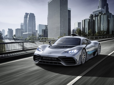 Mercedes AMG Project One: Sieu xe dung dong co F1 gia 2,7 trieu USD hinh anh 1