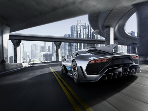 Mercedes AMG Project One: Sieu xe dung dong co F1 gia 2,7 trieu USD hinh anh 7
