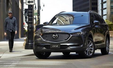Mazda CX-8 gia tuong duong 660 trieu tai Nhat Ban hinh anh