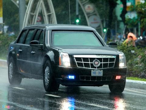 Nhung chiec xe dac biet trong doan ho tong Tong thong Trump hinh anh 5