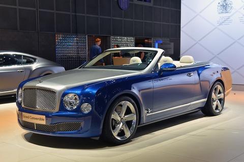 Bentley gioi thieu Mulsanne mui tran o Dubai, gia 3,5 trieu USD hinh anh