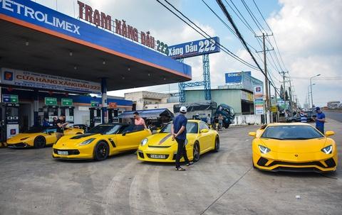 Sieu xe Lamborghini Aventador S 40 ty o Sai Gon lan dau di xa hinh anh 1