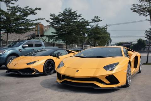 Sieu xe Lamborghini Aventador S 40 ty o Sai Gon lan dau di xa hinh anh 5