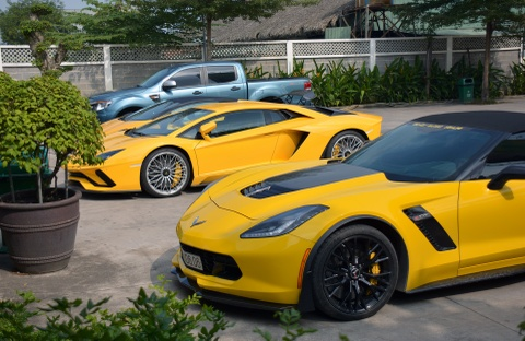 Sieu xe Lamborghini Aventador S 40 ty o Sai Gon lan dau di xa hinh anh 7