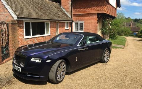 Rolls-Royce Dawn: Du thuyen mat dat hinh anh