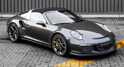 Porsche 911 Targa 4 GTS do phong cach xe dua duong pho hinh anh
