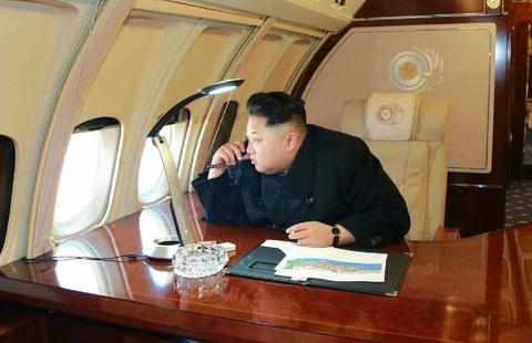 Kim Jong Un di thi sat bang chuyen co hinh anh