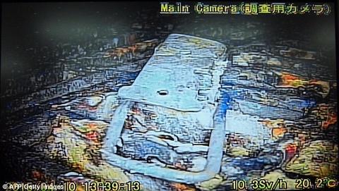 Robot ghi hinh ben trong nha may dien hat nhan Fukushima hinh anh
