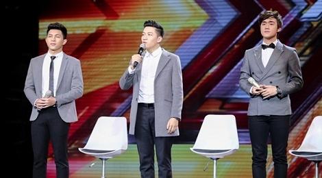 A quan X-Factor 2016 ra mat san pham am nhac dau tay hinh anh