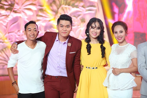 Le Phuong va ban trai truot giai nhat o chung ket Ngoi sao phuong Nam hinh anh