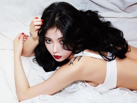 'Nu hoang goi cam' Hyuna toi Ha Noi bieu dien trong thang 6 hinh anh