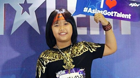 'Than dong danh trong' Trong Nhan tham gia Asia's Got Talent hinh anh