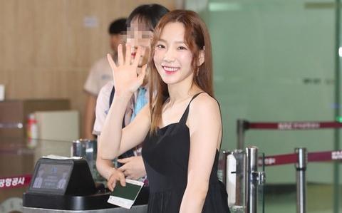 Xuat hien cung dan sao SM, Taeyeon (SNSD) bi che mac nham vay bau hinh anh