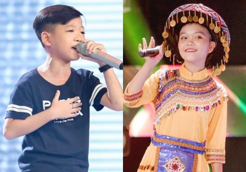 Sau Thien Nhan, The Voice Kids co quan quan thu 2 chuyen hat dan ca? hinh anh