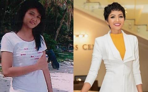 Sao Việt tham gia 'thử thách 10 năm': H'Hen Niê thay đổi ngoạn mục