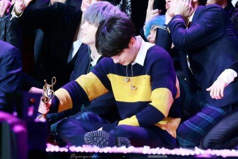Jungkook tai Seoul Music Awards hinh anh
