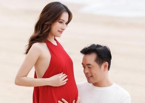 Dương Khắc Linh hạnh phúc khi Sara Lưu mang song thai