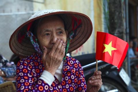 Xuc dong tai le an tang 12 hai cot liet si hy sinh tai Lao ve dat me hinh anh
