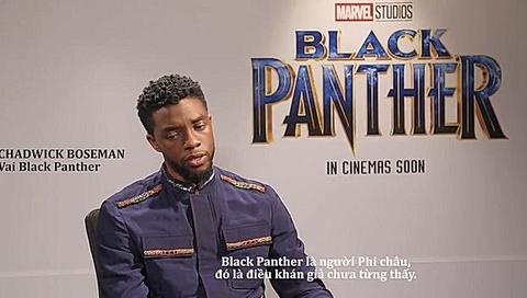 Dan dien vien Black Panther gui loi chao den cac fan Viet Nam hinh anh