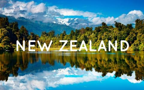 Ve dep thien duong cua xu so du lich New Zealand hinh anh