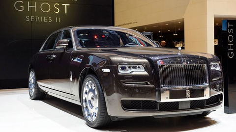 Can canh sieu xe sang Rolls-Royce Ghost Series II vua ra mat Ha Noi hinh anh