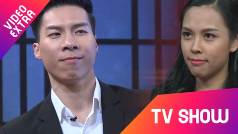 Quoc Nghiep 'kien' vo trong gameshow vi khong duoc can cam hinh anh