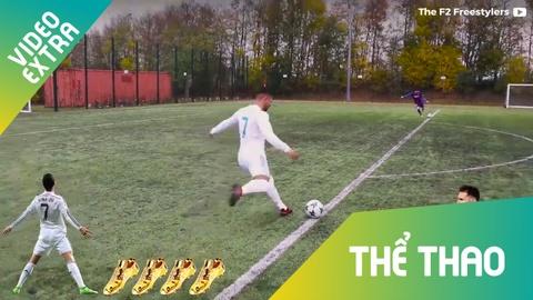 Ronaldo va Messi: nhung con so doi dau hinh anh