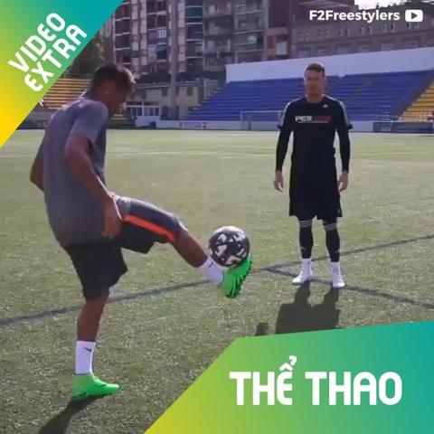 Neymar khoe me cac 'chieu doc' bong da duong pho hinh anh