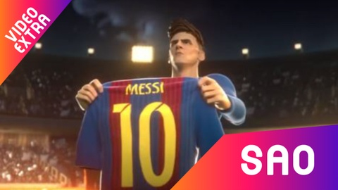 Phim hoat hinh ngan ve Leo Messi hinh anh