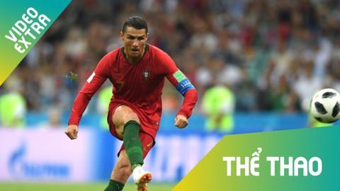 Tay Ban Nha - Bo Dao Nha: Ronaldo va nhung con so 3 hinh anh