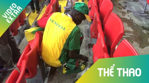 CDV Senegal va Nhat Ban don rac tren SVD sau tran dau hinh anh