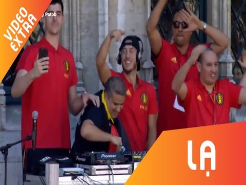 Eden Hazard choi DJ, 'quay' het minh cung bien nguoi ham mo hinh anh