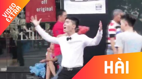 Khi fan cuong 'Fake Love' xuat hien tren duong pho hinh anh