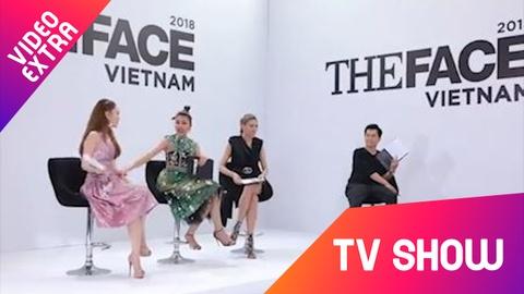 Minh Hang va Thanh Hang 'ran nut' tinh cam vi trai dep o The Face hinh anh