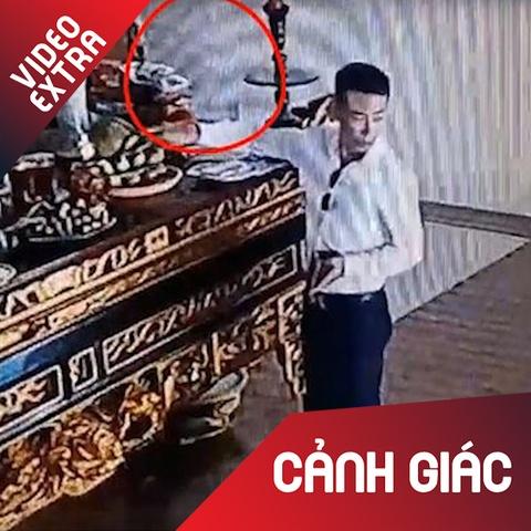 Nguoi dan ong tranh thu trom tien vieng chua o Vinh Phuc hinh anh