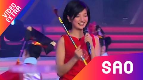 Trieu Vy hat live nhac phim kinh dien 'Hoan Chau cach cach' hinh anh