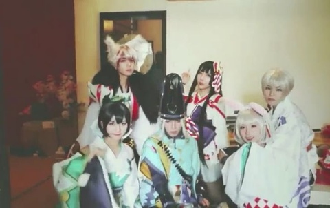 Le hoi cosplay truyen tranh day mau sac o Trung Quoc hinh anh