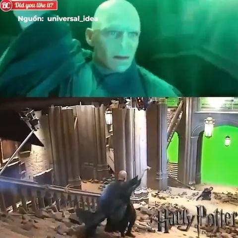 Su that dang sau nhung canh quay hoanh trang cua Harry Potter hinh anh