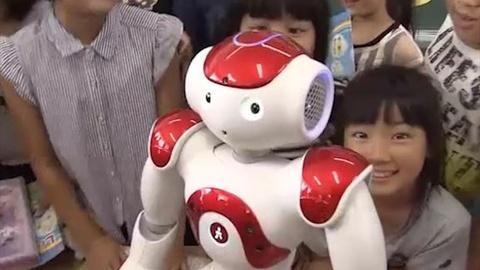 Nhat Ban dua robot tri tue nhan tao vao viec giang day tieng Anh hinh anh