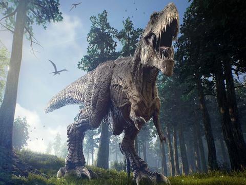 T-Rex chi la ga ti hon khi dung canh khung long an co hinh anh