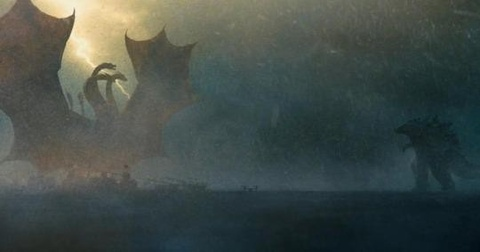 Godzilla danh nhau hoanh trang voi Rong ba dau trong trailer moi hinh anh