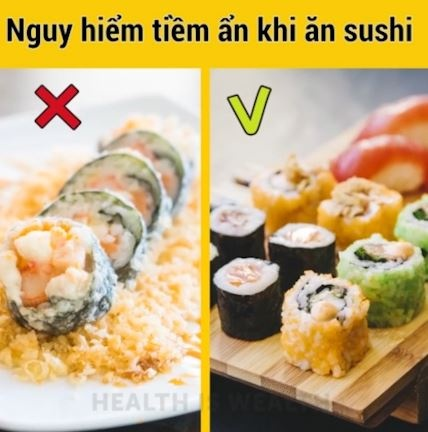 An sushi ca song, an hoa kho luong hinh anh